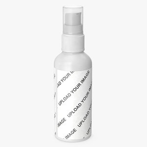 container cosmetic lotion 100 3D model