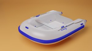 3D inflatable boat tender