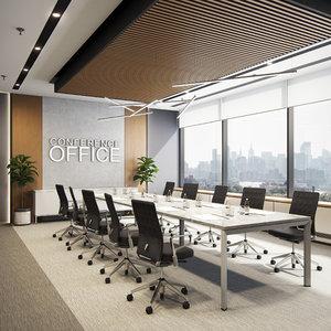 conference room 3D model
