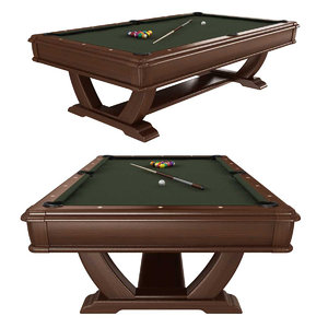 3D pool table brunswick soto