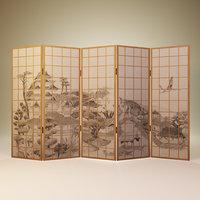 Japanese partition 3D