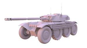 3D panhard ebr 105 tank