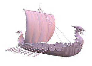 dragon ropes 3D model