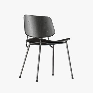 3D design seat soborg chair
