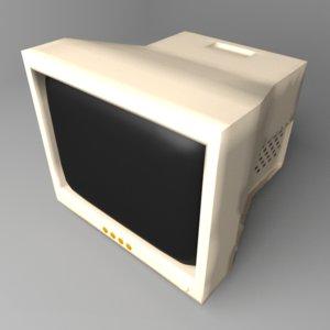 3D crt monitor 24 inch model