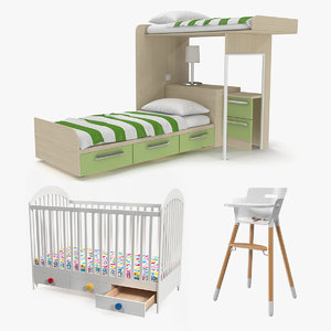 3D model children furniture child