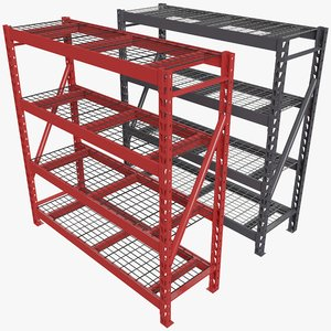 metal shelving shelf model