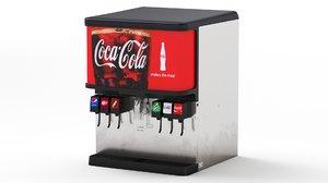 3D 6 flavor ice beverage model