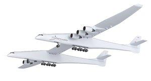 3D stratolaunch carrier aircraft