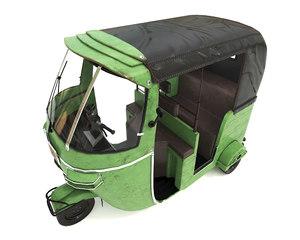 3D rickshaw substance model