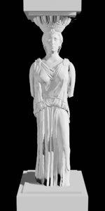 3D ancient greek acropolis