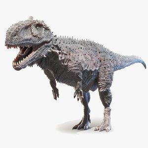 3D rajasaurus