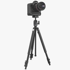3D canon 1dx zoom lens