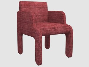 cove chair kelly wearstler 3D model
