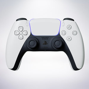3D ps5 controller 5