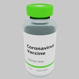coronavirus vaccine 3D