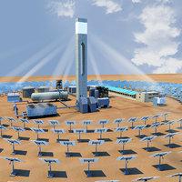 Heliostat Power Plant