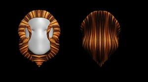 woman s hair 3D model