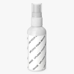 cosmetic container spray 100 3D