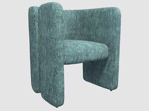fairfax chair avant blue model