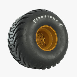 firestone hf-2 vehicles 3D model