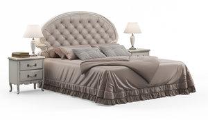 savio firmino bed 1991 3D model