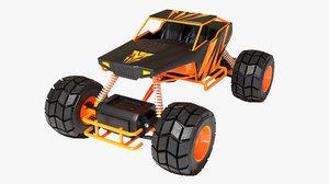 3D rc car