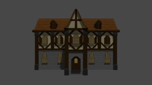 adventurers guild building 3D model