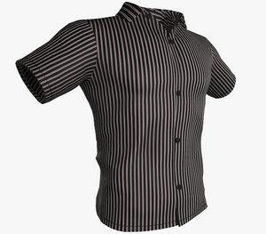 summer shirt 3 3D model