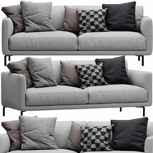 3D model interface coco sofa
