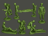 American Medic soldiers ww2 A8 Pack