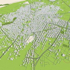3D halabja city iraq