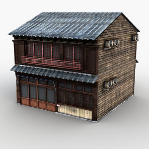 japanese style house 0012 model