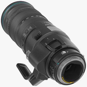 3D zoom lens 200 400mm
