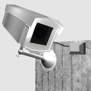 3D cctv camera