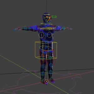 vegaza character 3D model