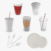 Disposable Tableware Collection 2
