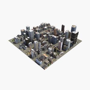 3D modular hd city model
