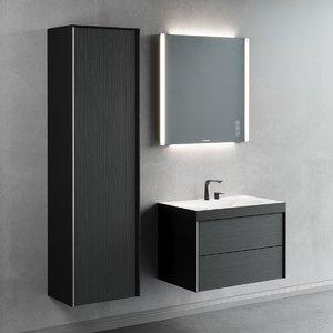 3D single vanity xviu unit