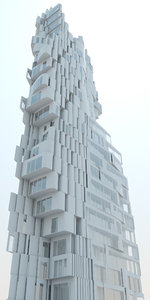 high-density hi-rise 3D