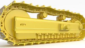 track bulldozer excavator model