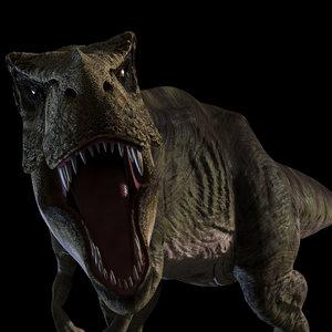 t rex - 8k 3D model