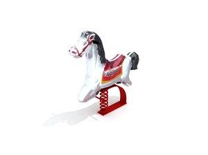 horse rocker play 3D
