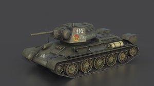 3D model t- 34 76 early