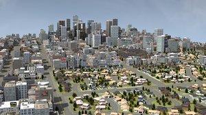 3D city rt model
