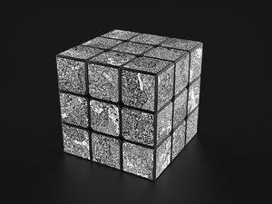 cube dbrand robot skin 3D