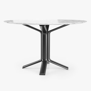 miller meridiani table 3D model