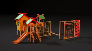 3D children play complex