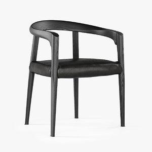 3D molteni miss chair model