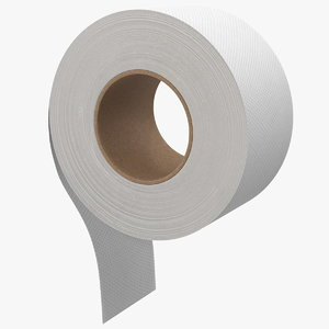 3D jumbo roll toilet tissue
